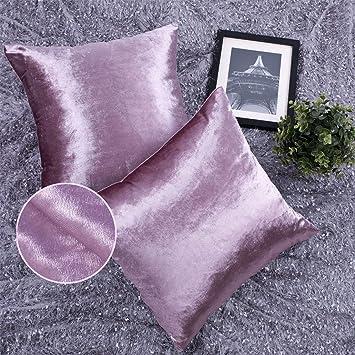 Amazon.com: YINFUNG - Fundas de almohada de terciopelo, 7.1 ...