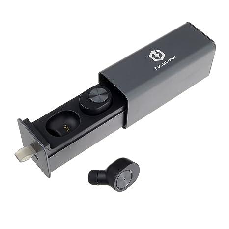 PowerLocus Bluetooth Auriculares Inalambricos In Ear Bluetooth deportivos HD Estéreo Auriculares Manos Libres con cancelación de