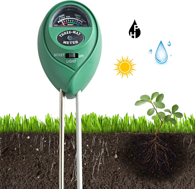 Jardinage 9 En 9 Ph Mètres Du Sol Kit De Test De Ph Du Sol Capteur