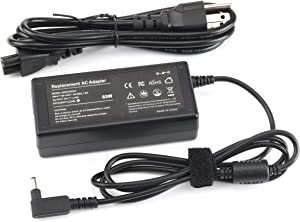 65W AC Adapter Laptop Charger for Acer Aspire A515-54 A13-045N2A C720 R5-571TG C738T R7-372T V3-372T-5051 A115-31 S5-371-52JR R7-371T C720P R5-471T R5-471T-52EE Swift SF314-55G SF314-52G Supplied cord