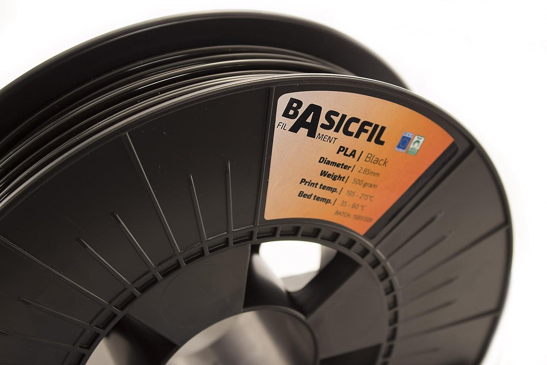500 gr filament pour imprimate 3D Argent Basicfil PLA 2.85mm