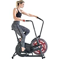 Schwinn Airdyne AD2, fitnessbike met grenzeloze luchtweerstand, LCD-console, krachtige aandrijfriem, transportwielen…
