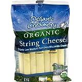 Organic Creamery Organic String Cheese, 1 oz, 18 Count