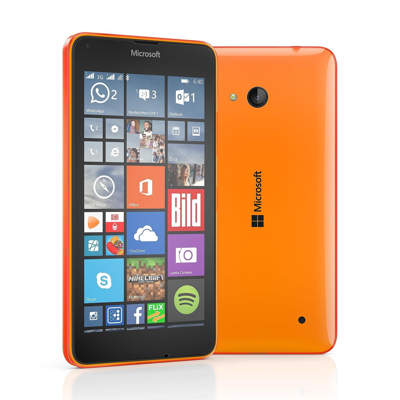 Microsoft lumia 640 dual sim smartphone 12,7 cm neon: amazon.de ...