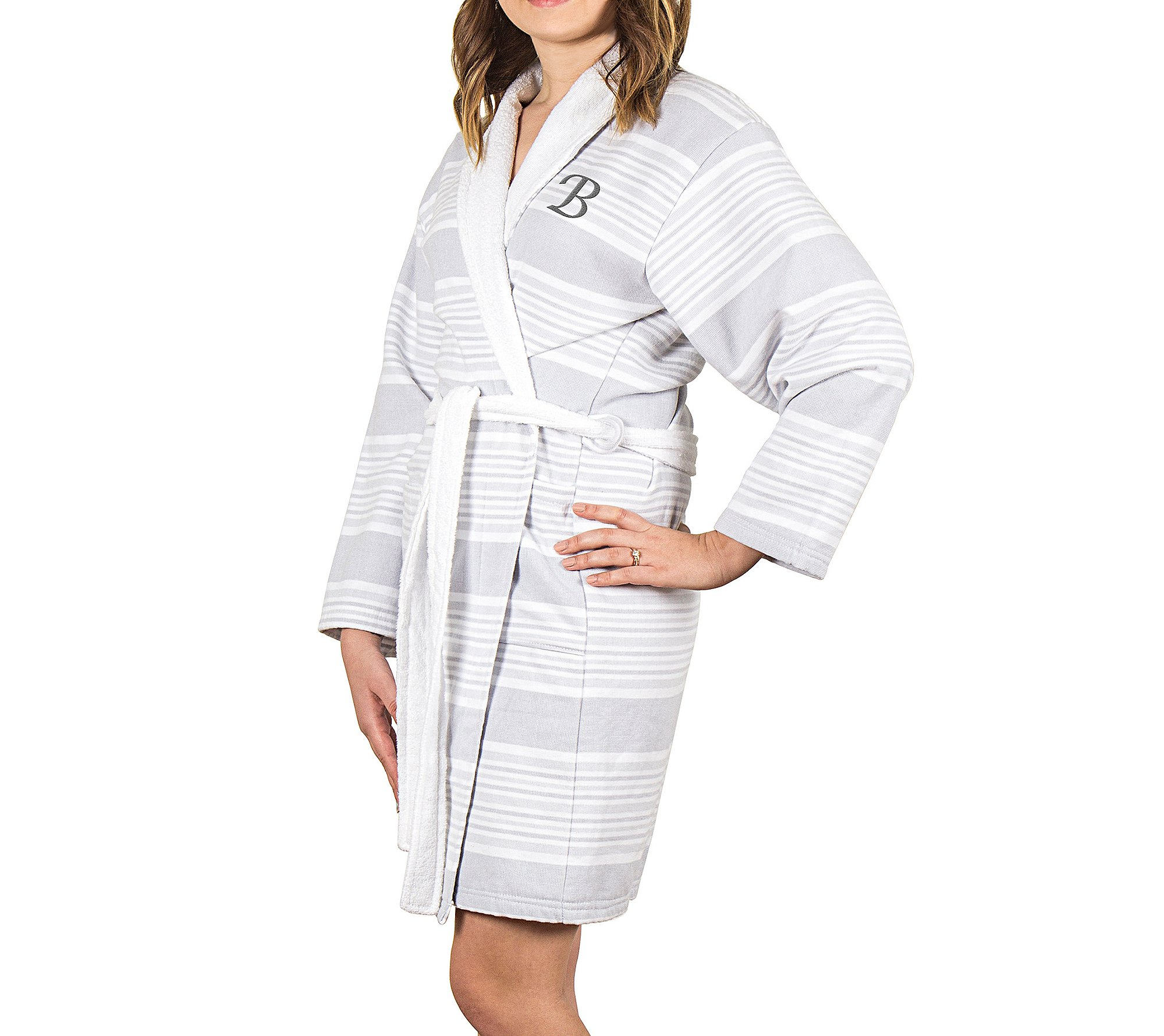 Cathy's Concepts Personalized Turkish Cotton Robe by Cathy's Concepts