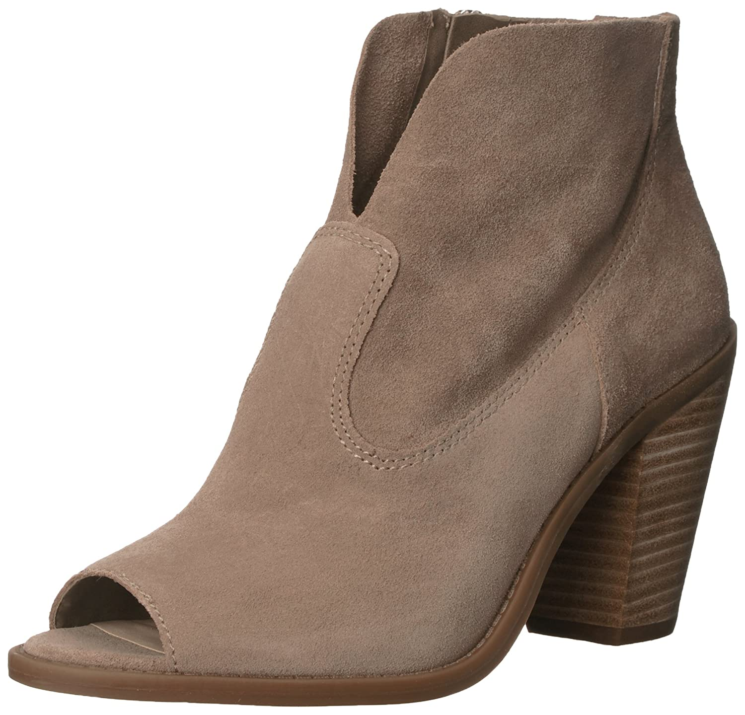 Jessica Simpson Women's Chalotte Ankle Bootie B01GH8RD58 10 B(M) US|Slater Taupe