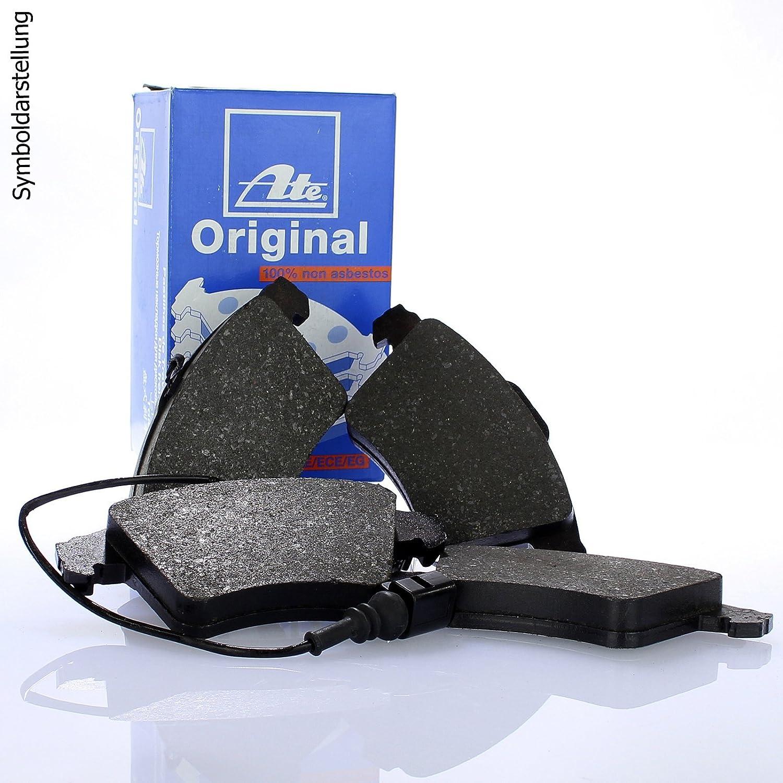 Original ATE Bremsscheiben vorne ATE Bremsbel/äge Bremskl/ötze Bremsenset Bremsenkit Komplettset Vorderachse Bremsenreiniger