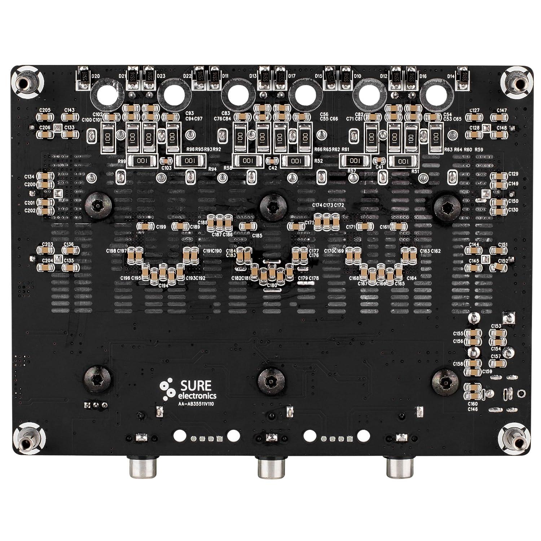 Douk Audio 400watt Mosfet Power Amplifier Stereo Hifi Amp 60w Amplifiercircuitsaudio Amazoncom Sure Electronics Wondom 2 X 200watt 1 Class D Board T Aa Ab33312 Musical Instruments