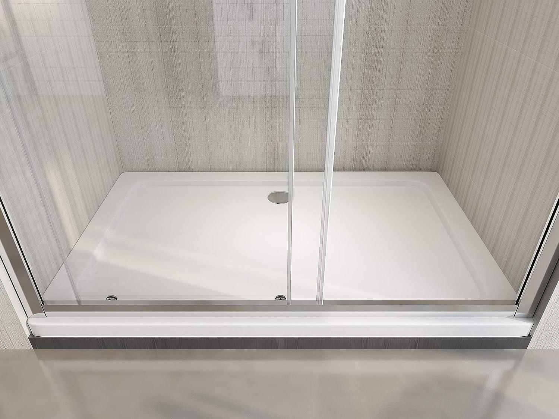 Nicchia Anticalcare Laneri Porta Doccia Scorrevole 160-165 cm