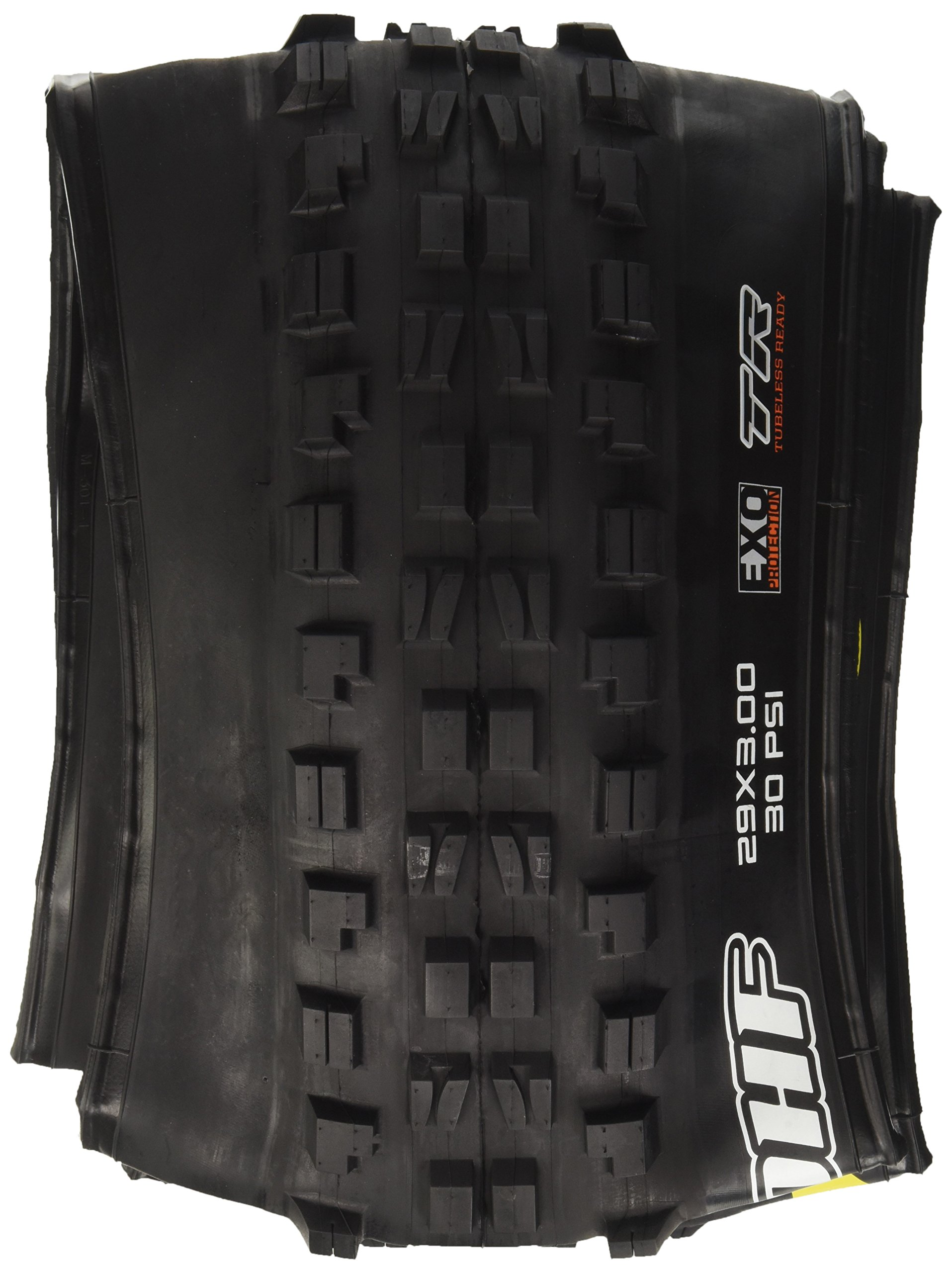 Maxxis Minion DHF 29x3.0'' Tire 60tpi, Dual Compound, EXO Casing, Tubeless Ready, Black by Maxxis