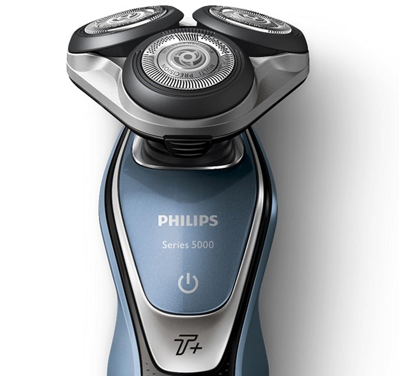 Philips Series 5000 Afeitadora eléctrica con cuchillas Multiprecisión, función Turbo + /Accesorio recortador de barba: Amazon.es: Salud y cuidado personal