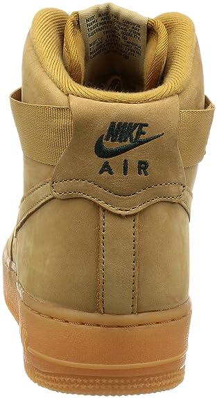 buy online 455ec 5d932 Amazon.com   Nike Air Force 1 High  07 Lv8 Wb Mens   Basketball