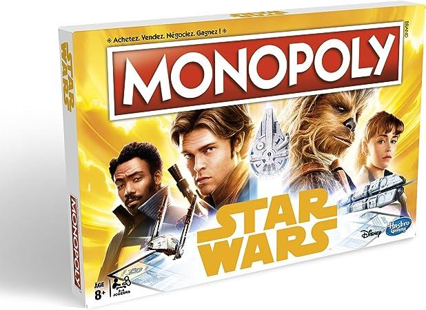 Monopoly E1702 Star Wars Han Solo - Juego de Mesa: Amazon.es: Juguetes y juegos