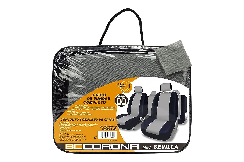 BC Corona FUK10410 Sevilla Juego de Fundas Color Gris
