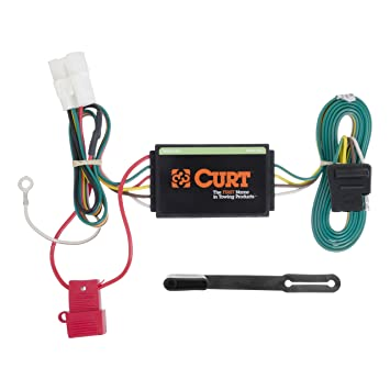 CURT 56040 Vehicle-Side Custom 4-Pin Trailer Wiring Harness for Select on