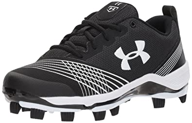 14626526bbac Under Armour Women's Glyde TPU Softball Shoe, Black (011)/White, ...