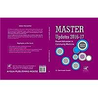 Master Updates 2016-17 Recent Advances in Community Medicine By Dr. Zakirhusain Shaikh,