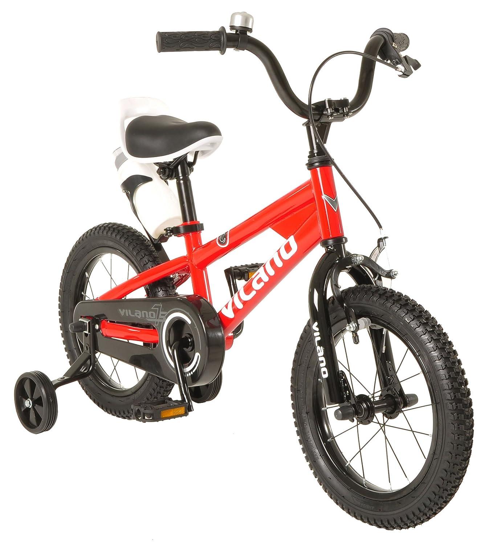 Vilano Boy 's BMXスタイルバイク、子供用16インチ レッド 575-BMX-16-RED B01IAA9LQK レッド レッド