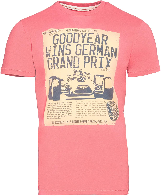 Goodyear Men T-Shirt Canton, Farbe:Red, Größe:2XL: Amazon.es: Ropa ...