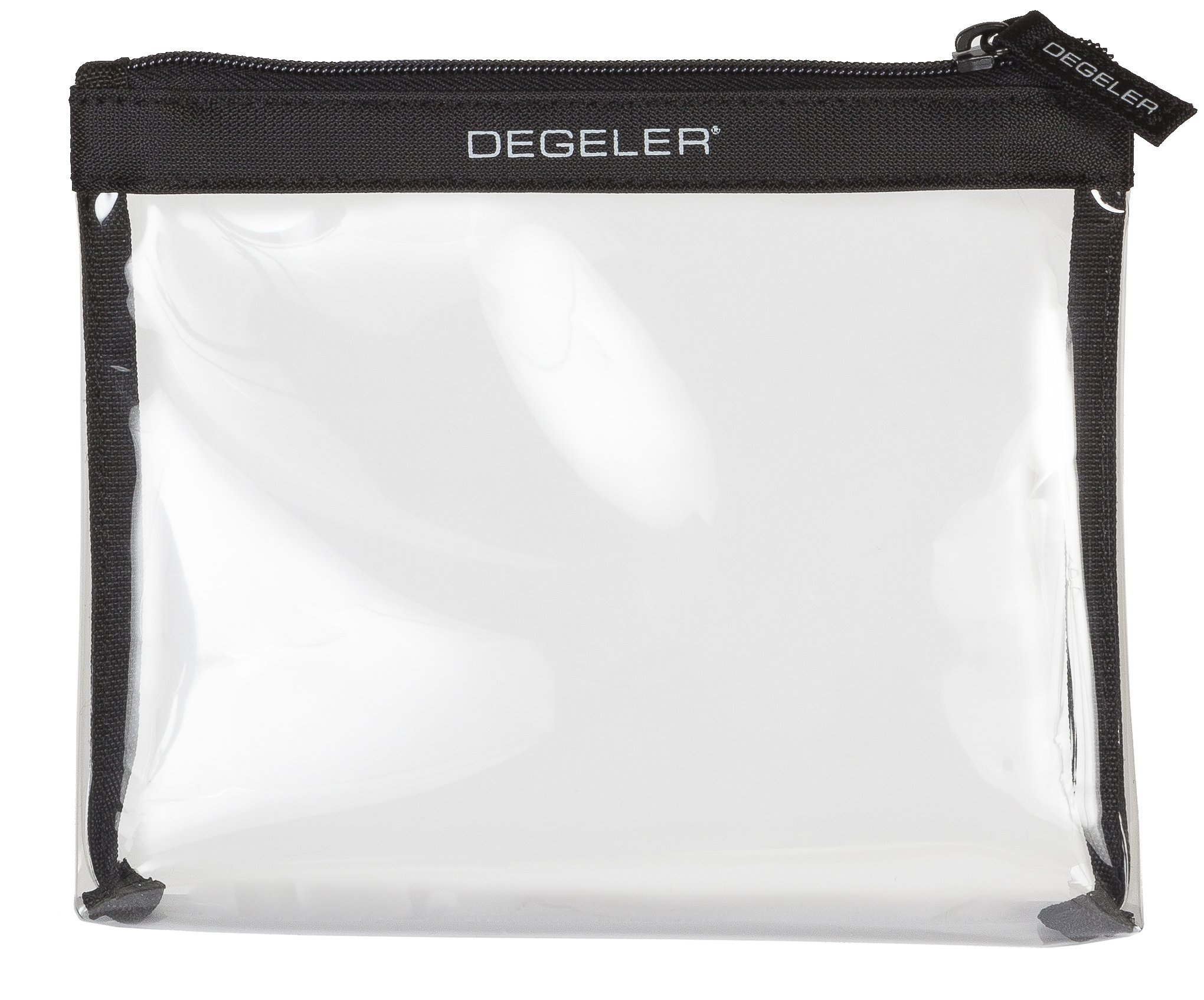DEGELER Carry-on Clear Bag - Zip-Sealable Toiletry Bag - Ideal for carrying liquids, cosmetics or make up in hand luggage over flights and short trips - TSA approved…