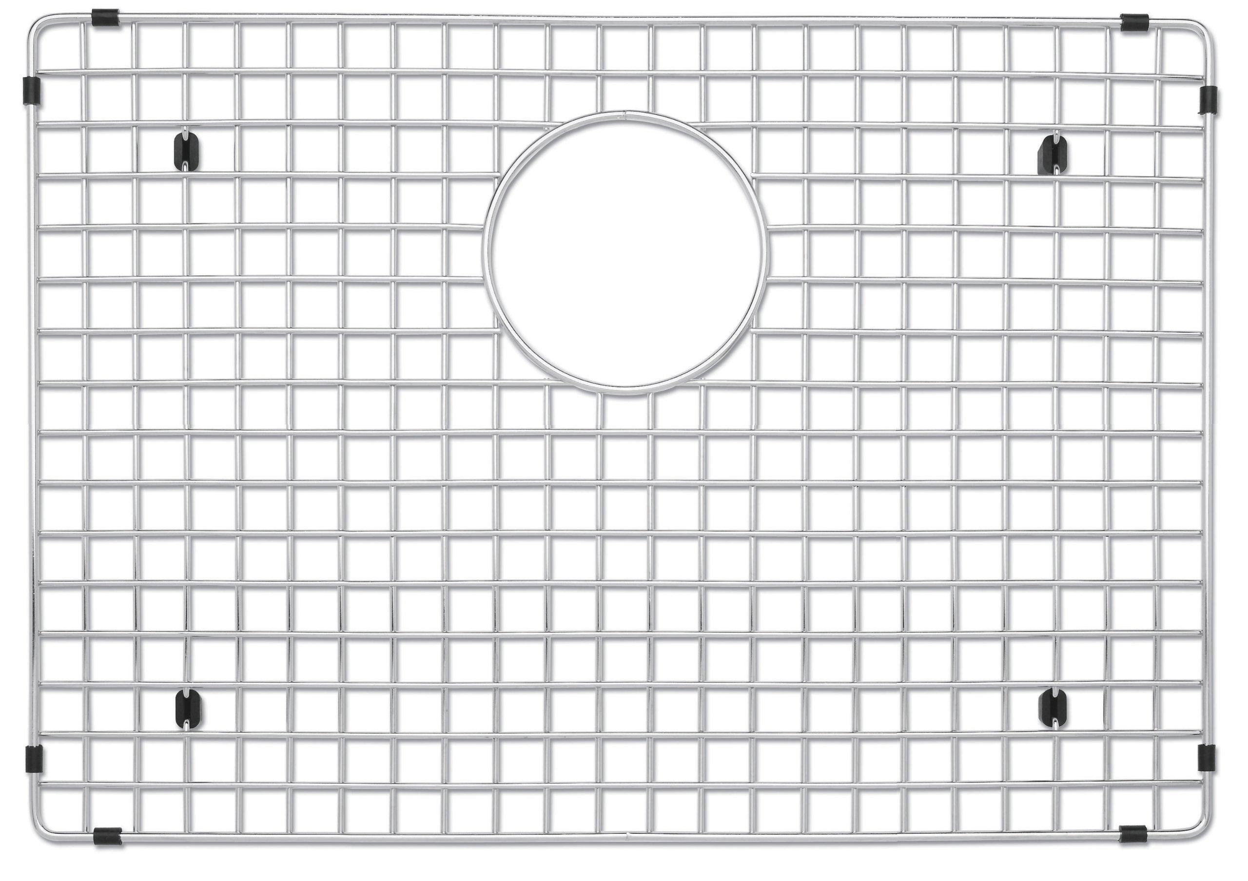 Blanco 223191 Stainless Steel Sink Grid, Fits Precision and Precision 10 sinks 515822/819, Stainless Steel