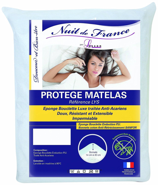 Nuit De France 329379 9/10 - Ropa de cama y almohadas, color blanco: Amazon.es: Hogar