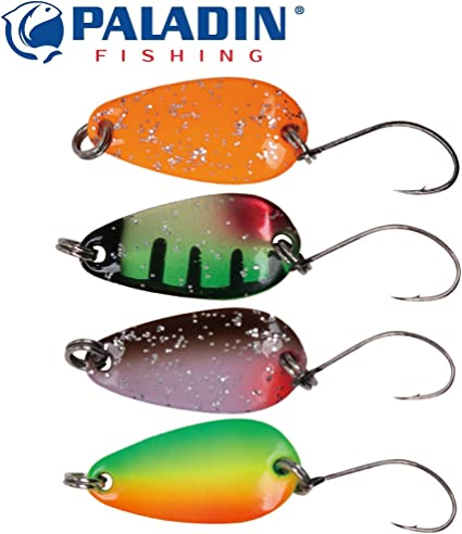 Gallo 2g Fishing Ghost® Trout Spoon Set Blinker Forellenblinker zum Angeln,