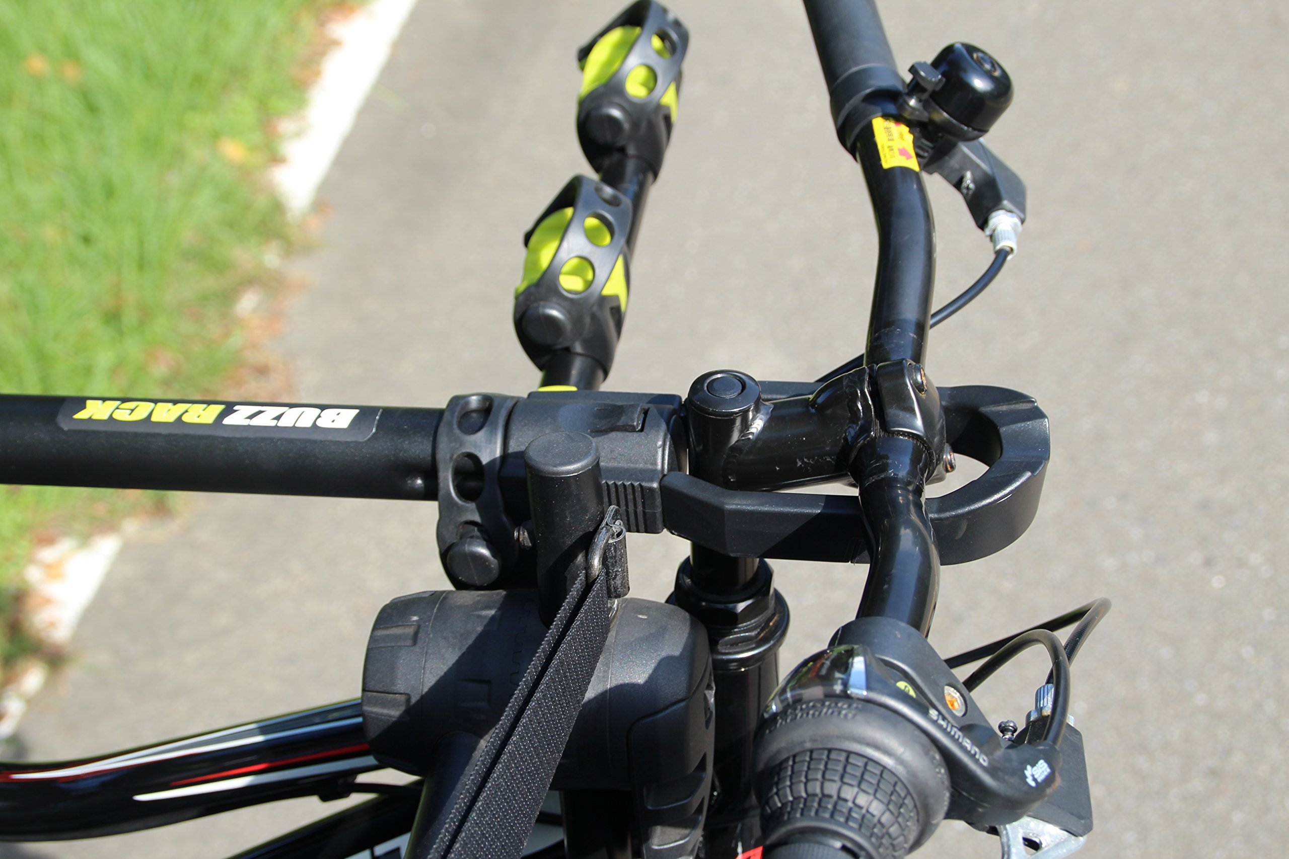 BUZZ RACK GRIP Deluxe Black Bike Top Frame Cross Bar Telescopic Adaptor by BUZZ RACK (Image #6)