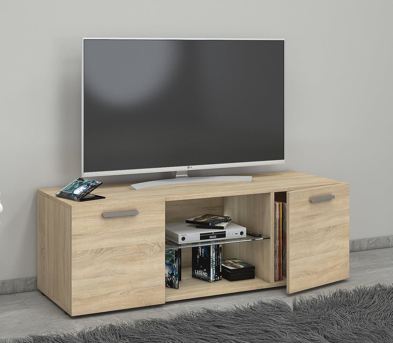 VCM Lowina 115 TV Lowboard Fernseh Schrank Möbel Tisch Holz ...