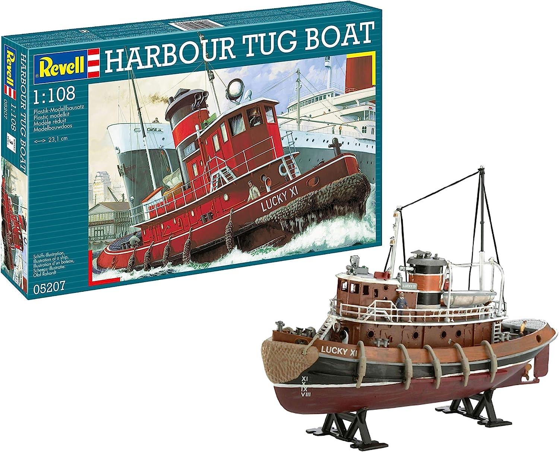 Revell- Harbour Tug Maqueta de Buques de Carga, 10+ Años, Multicolor (05207): Amazon.es: Juguetes y juegos