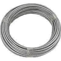 Cable de acero galvanizado de Ruck-Zuck, 3/4mm, recubierto