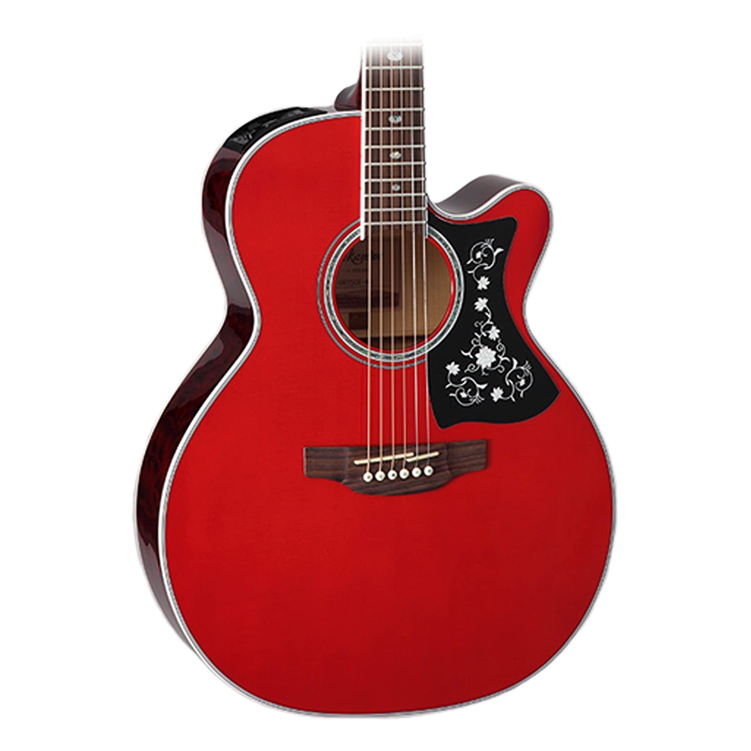 takamine gn75ce wr nex acoustic electric guitar wine