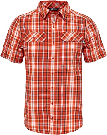 The North Face M S/S Pine Knot Camisa de Manga Corta Hombre ...