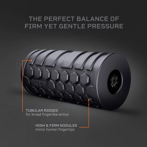 LifePro 4-Speed Vibrating Foam Roller – High Intensity Vibrating Roller for Muscle Recovery, Mobility Pliability Training – Deep Tissue Vibrant Massage for Awesome Trigger Point Sports Therapy
