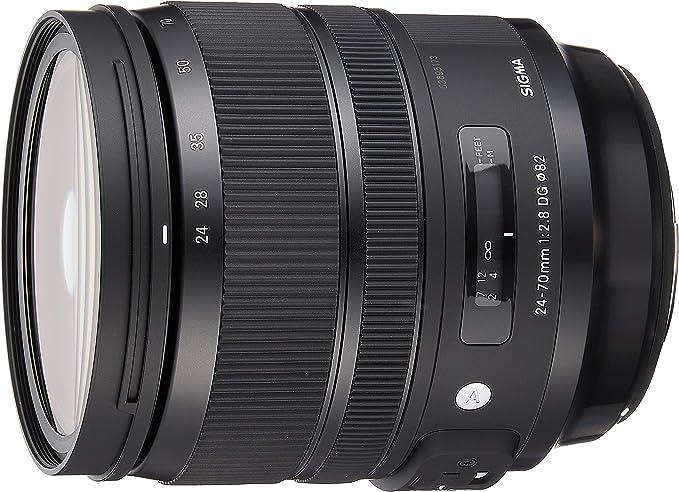 Sigma 24 70 Mm F2 8 Dg Os Hsm Art Lens For Canon Lens Camera Photo