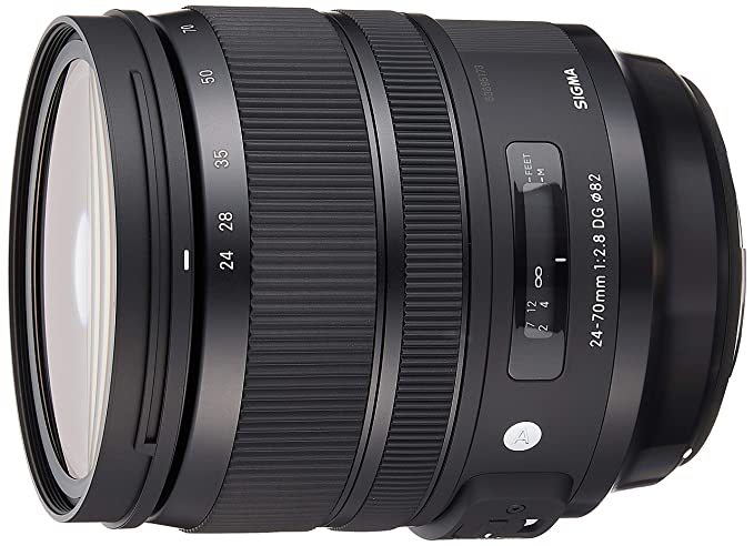 Sigma 576954 24-70mm f/2.8 DG OS HSM Lens (Black) Camera Lenses at amazon