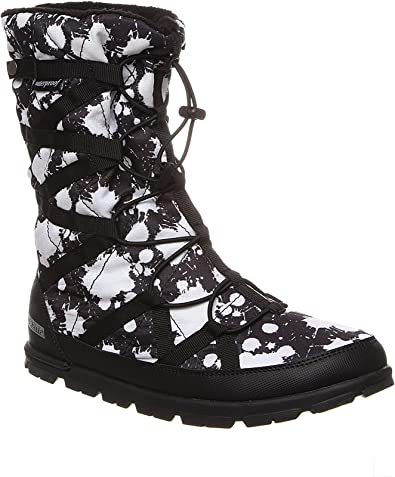 Packable Mid-Calf High Sizes 11-5 Fashionable After Sport and Travel Boot Pakems Cortina Paint Splash Girl/'s Lightweight