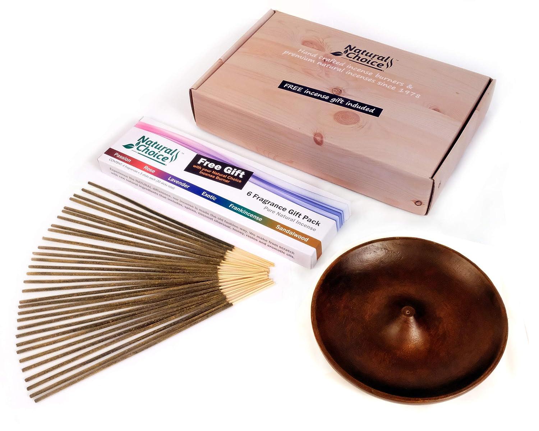 Black Natural Choice Incense Full Moon Incense Holder
