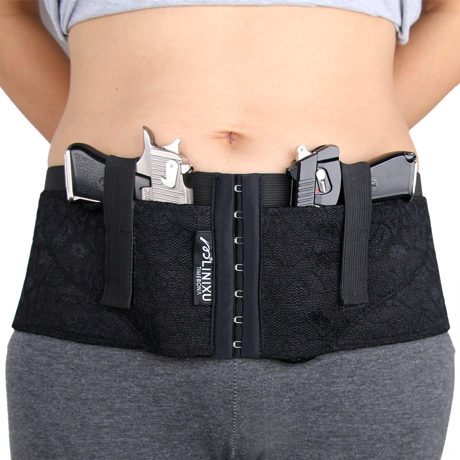 amazon com linixu women s concealed carry holster hip hugger