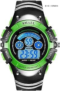 Children Sport Watches Kids Alarm Digital Watches LED Display Students Wristwatches