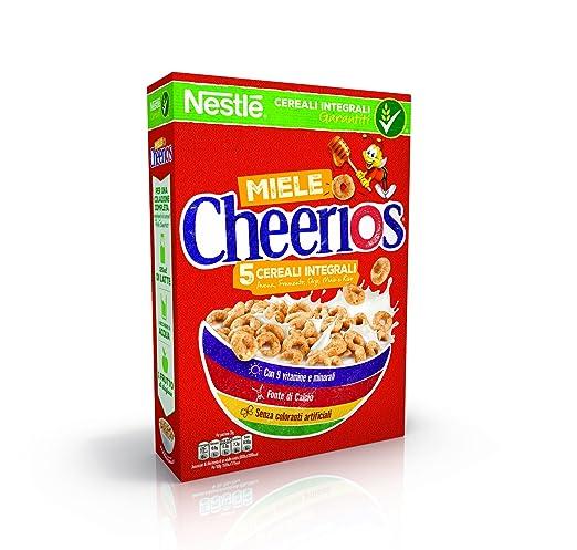 34 opinioni per CHEERIOS MIELE ciambelline ai cereali integrali con miele- 4 pezzi da 375 g