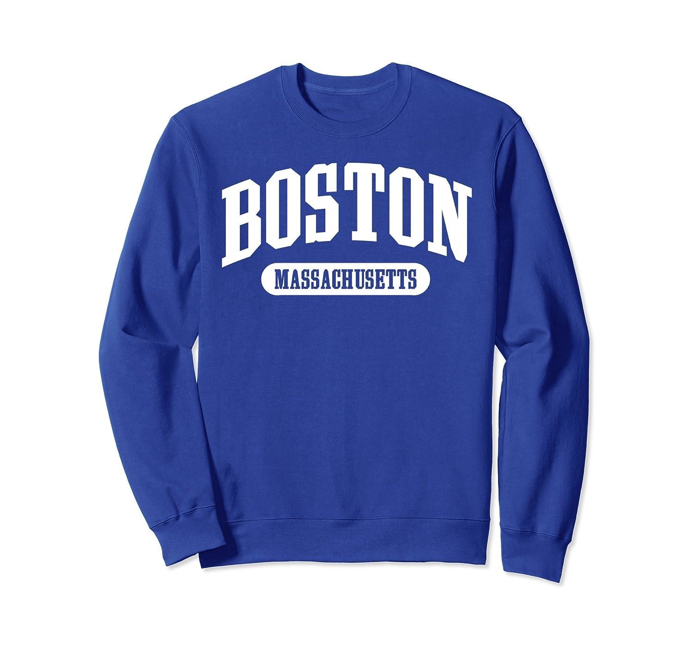Boston Massachusetts Sweatshirt College style pullover-alottee gift