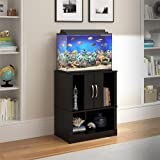 Ameriwood Home Cove 20 Gallon Aquarium Stand, Black
