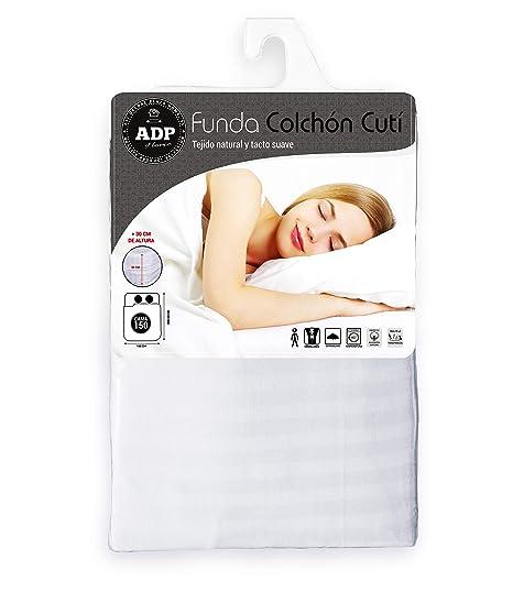 ADP Home - Funda de colchón Cutí con Cremallera L, 150x200+30 cm (