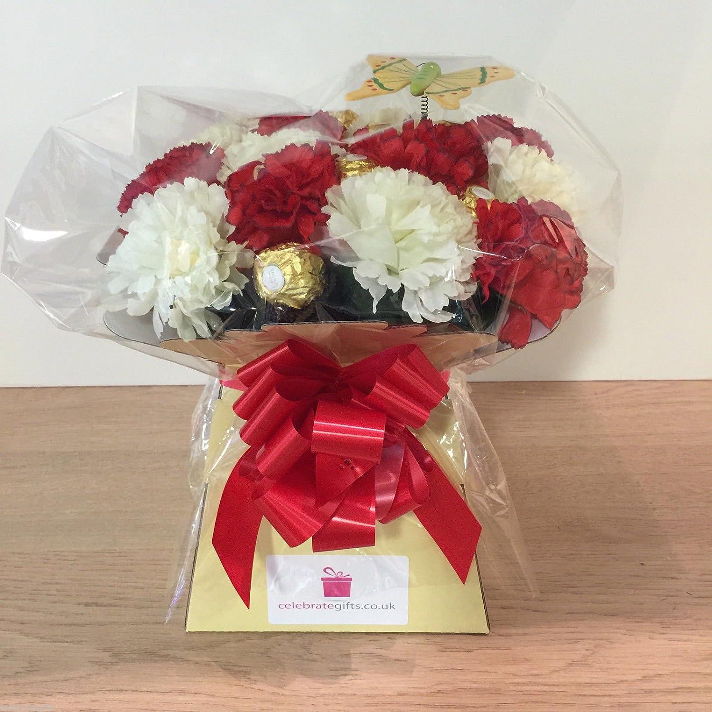 Colorful Ferrero Rocher Flower Bouquet Uk Frieze - Best Evening Gown ...