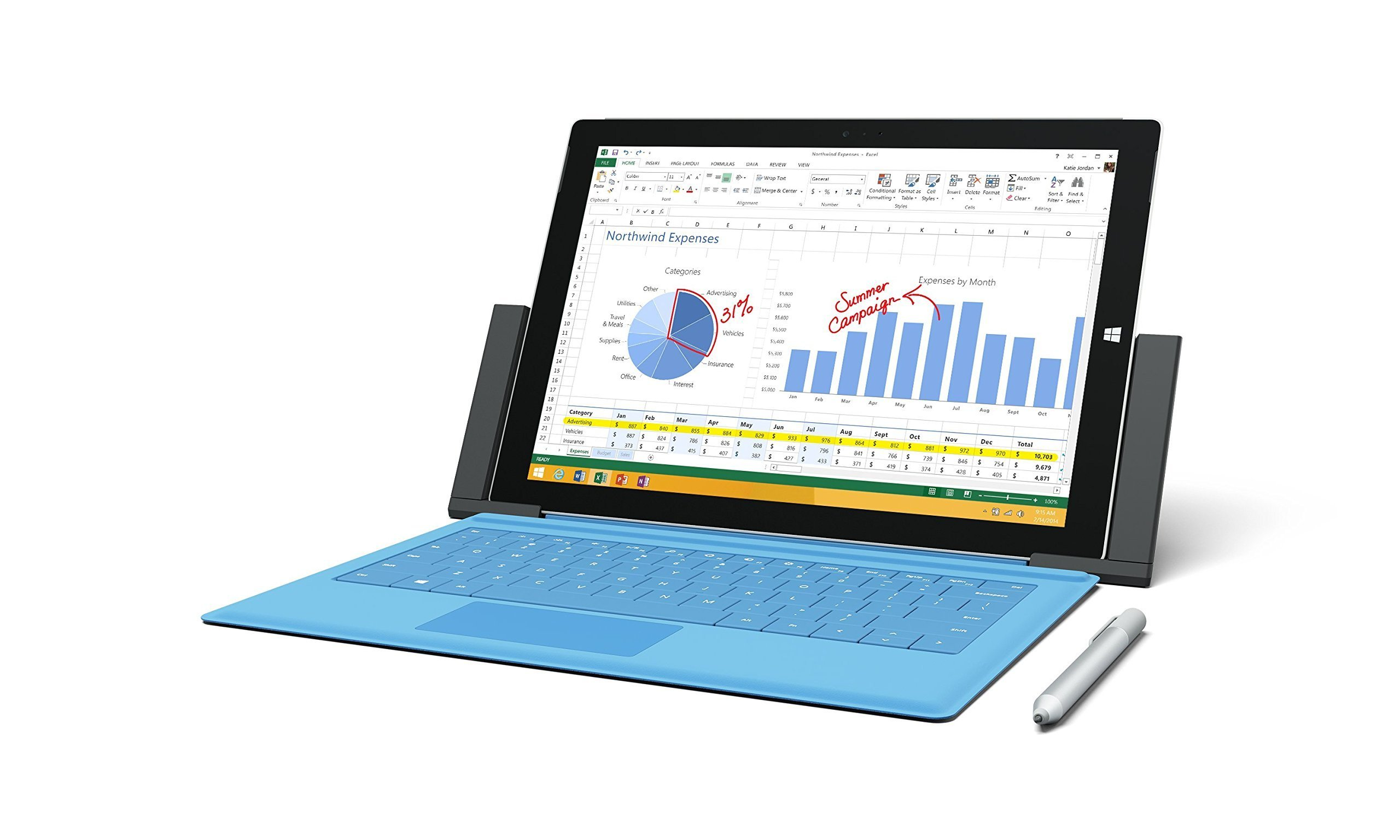 Microsoft Docking Station for Surface Pro 3 3Q9-00001 (Renewed) by Microsoft (Image #4)
