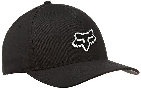 bcdfdbe05 FOX Men's Flex Fit Legacy Logo Hat, Black Large/X-Large