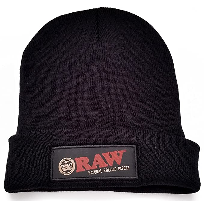 Image Unavailable. Image not available for. Color  RAW Rolling Papers  Beanie Hat ... e9c0b883865f