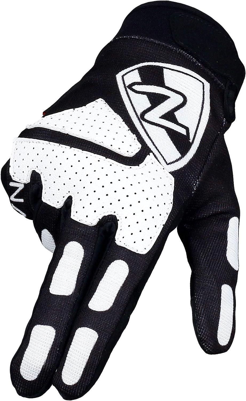 Namus Guantes Moto, Guantes Motocross Para Hombre y Mujer, Guantes Todoterreno, guantes deportivos con dedos completos, Pantalla táctil completa, Motocicleta Escalada Senderismo Montar Guantes (M)