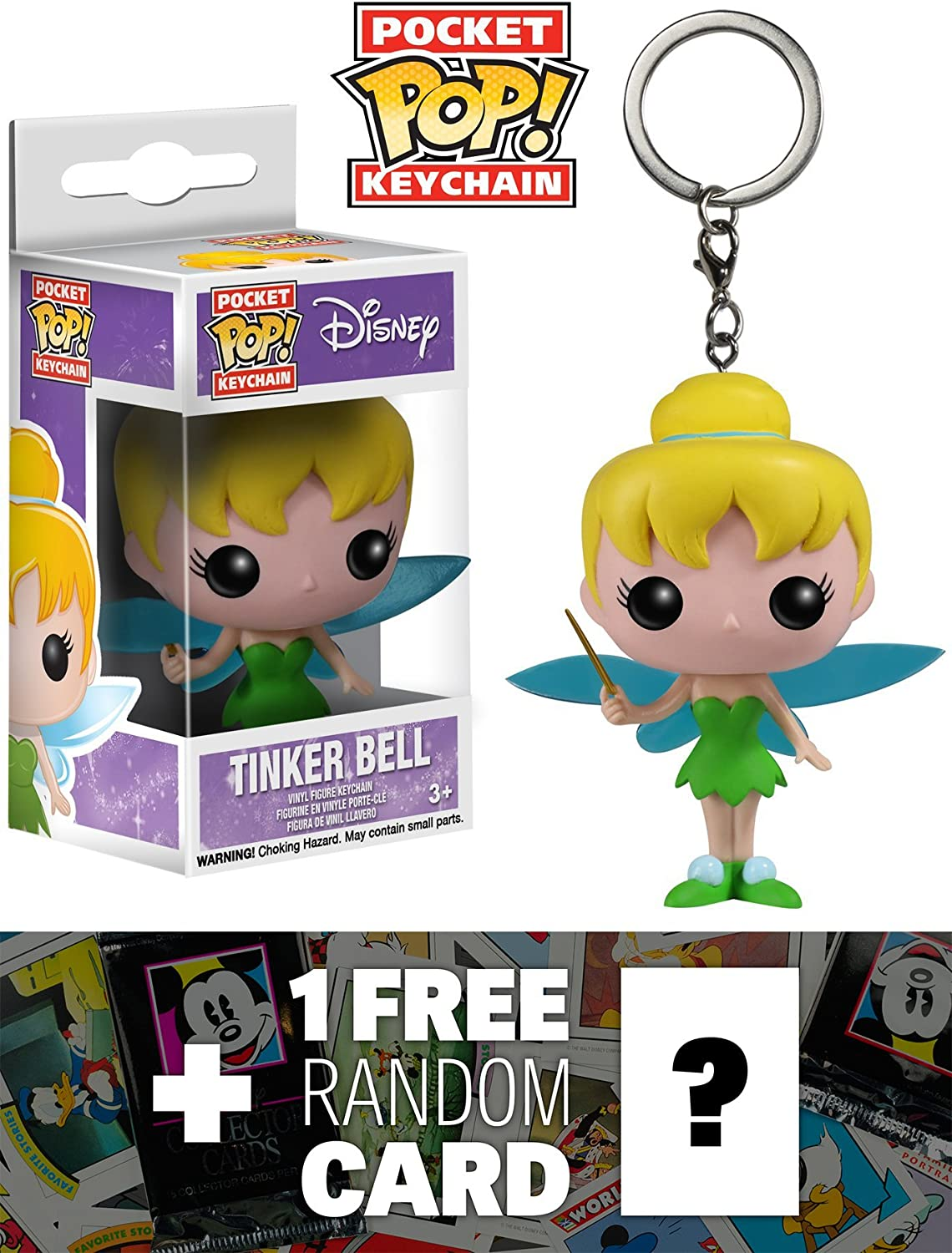 Amazon.com: Tinker Bell: Pocket POP! Keychain x Disney ...